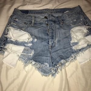 high rise american eagle short